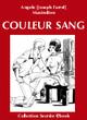 COULEUR SANG (eBook)  De  Angelo [Joseph Farrel], Joseph Farrel et  Maximilien - Vertiges Secrets